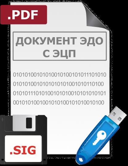 электронный документ из систем ЭДО